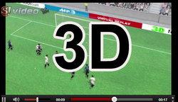 คลิปไฮต์ไลท์ แบบ 3D ยูโร2012