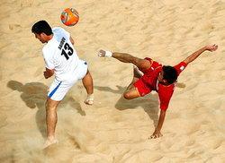 จีนเลื่อนแข่งบอลชายหาด4เส้าเป็นเดือนสค.