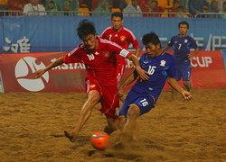 ไทยพ่ายจีนยับ1-6ได้แค่ชิงที่3บอลชายหาด