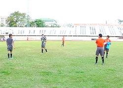 แข้งไทยงานหนัก ช.ซีเกมส์ ร่วมสายพม่า-อินโดฯ