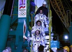 เจ๋ง!รัสเซียส่งไฟคบเพลิงโอลิมปิกท่องอวกาศ
