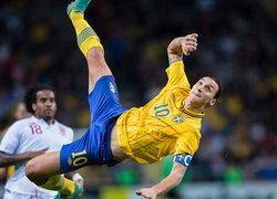 สวีเดน พิมพ์รูปหน้าซลาตันลงบนสแตมป์