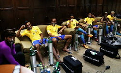 เผยภาพในห้องพักบราซิล หลังต้องเล่นในสนามที่ประเทศโบลิเวีย