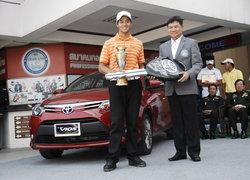 โปรยิมซิวแชมป์สวิงโตโยต้าพีจีเอไทยแลนด์