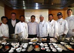 4โปรกอล์ฟชื่อดังสร้างสีสันโชว์ทำอาหารไทย