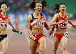 ติดตามซีเกมส์2013!วิ่ง4x100ช.ญ.ซิวทอง-ยกเหล็กคว้าอีก1