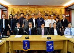 AFCศึกษาดูงานระบบการพัฒนาโต๊ะเล็กไทย