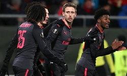 """ผลบอล : """"อาร์เซน่อล"""" บุกอัด """"ออสเตอร์ซุนด์"""" 3-0 ยูโรป้าลีก (คลิป)"""