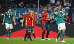 """ผลบอล : กินกันไม่ลง! """"เยอรมัน"""" เปิดรังเจ๊า """"สเปน"""" 1-1 อุ่นเครื่องทีมชาติ (คลิป)"""