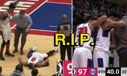 วูบคาสนาม! นักบาสเก็ตบอล NBA G-League ล้มกลางเกมก่อนเสียชีวิต (คลิป)