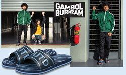 """อย่างเฟี๊ยว! """"บุรีรัมย์ ยูไนเต็ด"""" จับมือ """"แกมโบล"""" ผลิตรองเท้าแตะสุดคูล"""