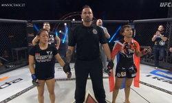 """สาวไทยคนแรก! """"โลมา ลูกบุญมี"""" ประกาศชัย MMA บนแผ่นดินมะกัน (คลิป)"""