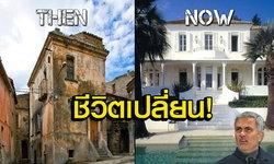 """แตกต่างราวฟ้ากับเหว! ส่อง """"บ้านเก่า-บ้านใหม่"""" ของ 10 กุนซือลูกหนังโลก (ภาพ)"""