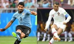 พรีวิว ฟุตบอลโลก 2018 รอบ 16 ทีมสุดท้าย : อุรุกวัย VS โปรตุเกส