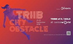 """ท้าทายและสนุกสุดมันส์! งานวิ่ง """"TRIIB City Obstacle Bangkok"""" 21-23 ก.ย.นี้ ที่เซ็นทรัลเวิลด์"""