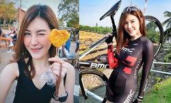 """น่ารักอ่ะ! """"ยุ้ย-วดี"""" สาวนักบัญชีผู้รักการปั่นจักรยาน (อัลบั้ม)"""