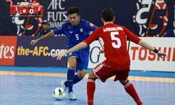 ฟุตซอลไทยเจ๊าเลบานอน3-3 เข้าที่1  ชนยุ่นรอบ8ทีม