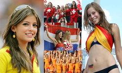 สีสันกองเชียร์สาวๆในบอลโลก