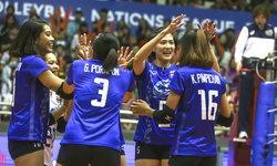 สาวไทย เชือด โปแลนด์ สุดระทึก!! 3-2 เก็บชัยนัดที่ 2 วอลเลย์บอล เนชั่นส์ ลีก 2018