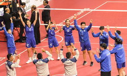ตะกร้อสาวไทยสมราคาเต็ง1! ทุบ เกาหลีใต้ คว้าทองทีมชุดหญิง