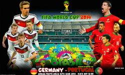 """วิเคราะห์ฟุตบอลโลก """"เยอรมัน-โปรตุเกส"""""""