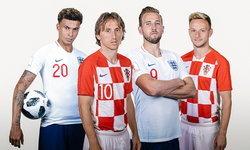 """พรีวิว ฟุตบอลโลก 2018 รอบรองชนะเลิศ : """"โครเอเชีย VS อังกฤษ"""""""