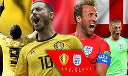"""พรีวิว ฟุตบอลโลก 2018 นัดชิงอันดับสาม : """"เบลเยียม VS อังกฤษ"""""""