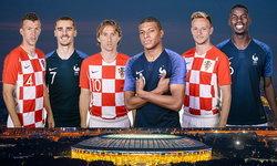 พรีวิว ฟุตบอลโลก 2018 รอบชิงชนะเลิศ : ฝรั่งเศส - โครเอเชีย
