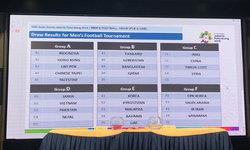 ไม่เปลี่ยนแปลง! ทีมชาติไทย เจอคู่แข่งเดิมในเอเชียนเกมส์ 2018