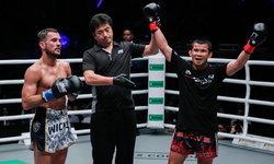 """เดิมพันเข็มขัดแชมป์! """"น้องโอ๋"""" เตรียมบู๊ """"หาน จือ หาว"""" ศึกมวยไทย ONE Super Series"""