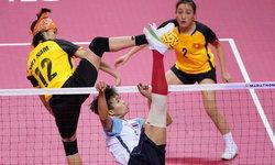 ไม่ผิดหวัง! ตะกร้อหญิง 4 คน อัด เวียดนาม 2-0 เซต ซิวทองที่ 11 ให้ทัพนักกีฬาไทย