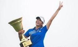 """""""โปรแอนท์"""" เรณุกา ฟอร์มแรงคว้าแชมป์กอล์ฟหญิง ที่จีน"""
