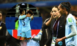 """สาวไทยหลั่งน้ำตา หลังพ่ายยับประเดิมบอลโลก , """"มาดามแป้ง"""" รับ นักเตะเสียขวัญหนัก"""