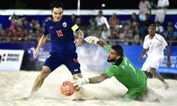 บอลชายหาดทีมชาติไทย พ่ายปาเลสไตน์ 2-5 ศึกชิงแชมป์เอเชีย (คลิป)