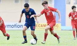 ช้างศึก U18 โดน สิงคโปร์ ไล่ตีเสมอ 1-1 ประเดิมศึกชิงแชมป์อาเซียน