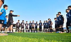 """ช้างศึก U23 ซ้อมครั้งแรก, """"นิชิโนะ"""" เผยแผนการเตรียมทีม ก่อนลุยศึกชิงแชมป์เอเชีย"""