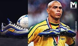 Nike Mercurial : สตั๊ดคู่แรกของโลกที่สร้างมาเพื่อ ความเร็ว และทำให้ R9 ฉีกคู่แข่งเป็นชิ้นๆ