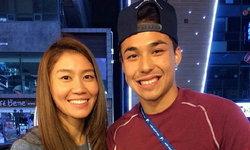 """กรี๊ดภาพไอจี """"คู่จิ้น"""" แห่งวงการกีฬาไทย ซาร่า นุศรา - ชาริล ชัปปุยส์"""