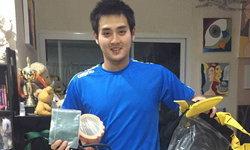 ส.ว่ายน้ำไทย ส่งอุปกรณ์ฝึกซ้อมให้นักกีฬาว่ายน้ำ ช่วงโควิด-19