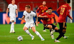 ชวดสามแต้ม! เยอรมนี สุดเสียดายเปิดรังโดน สเปน ตามตีเจ๊าทดเจ็บ 1-1