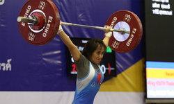 """""""วีรพล-รจนา"""" คว้าคนละ 2 เหรียญทอง ศึก EGAT (อีแกท) ยกน้ำหนักเยาวชนชิงแชมป์ประเทศไทย"""