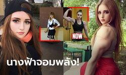 """บาร์บี้กล้ามโต! """"ยูเลีย วินส์"""" สาวรัสเซียสุดสวยดีกรีแชมป์โลกยกน้ำหนัก (ภาพ)"""