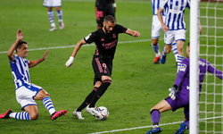 มาดริด ประเดิมเจ๊าจืด โซเซียดาด 0-0 ศึกลาลีกา สเปน