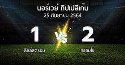 ผลบอล : ลีลล์สตรอม vs ทรอมโซ่ (นอร์เวย์-ทิปเปลีเก้น 2021)