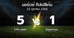 ผลบอล : ไวกิ้ง เอฟเค vs ลีลล์สตรอม (นอร์เวย์-ทิปเปลีเก้น 2021)