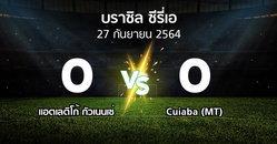 ผลบอล : แอตเลติโก้ กัวเนนเซ่ vs Cuiaba (MT) (บราซิล-ซีรี่เอ 2021)