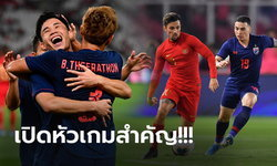 ไทย VS อินโดนีเซีย : คัดฟุตบอลโลก 2022, เทียบสถิติ, ถ่ายทอดสด