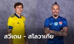 พรีวิวฟุตบอล ยูโร 2020 รอบแบ่งกลุ่ม : สวีเดน พบ สโลวาเกีย