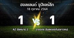 ผลบอล : AZ อัลค์ม่าร์ 2 vs อาแจกซ์ อัมสเตอร์ดัม(เยาวชน) (ฮอลแลนด์-จูปิแลร์ลีก 2021-2022)