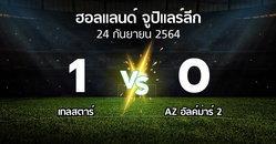 ผลบอล : Telsta vs AZ อัลค์ม่าร์ 2 (ฮอลแลนด์-จูปิแลร์ลีก 2021-2022)
